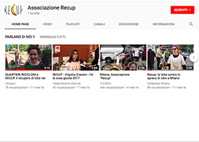 screenshot pagina youtube